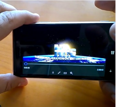 Windows 10 Mobile music