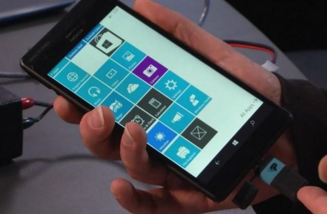 Windows 10 prototype