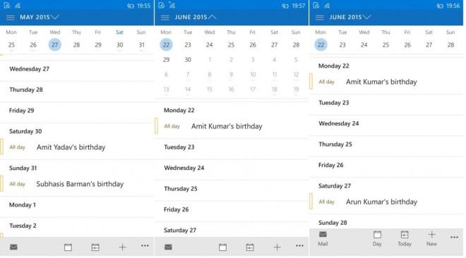 Outlook calendar1