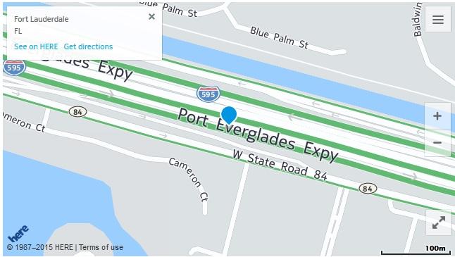 HERE lane traffic