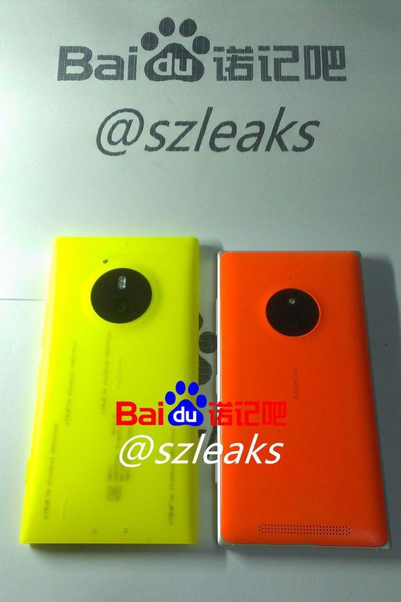 Lumia 830 vs Lumia 850