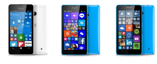 Lumia 550 vs Lumia 540 vs Lumia 640