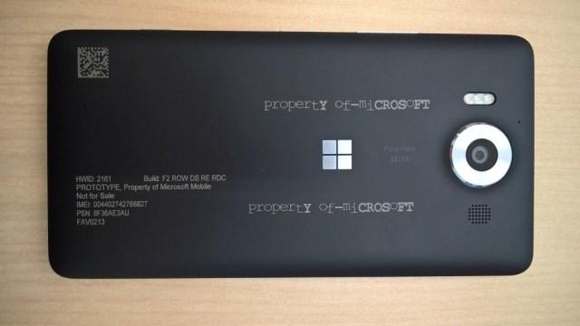 Lumia 950 proto