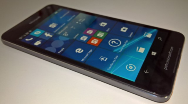 Lumia 650 proto
