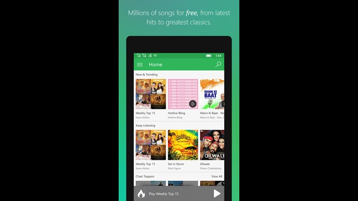 Saavn Universal App Is Now Available For Windows 10 Mobile