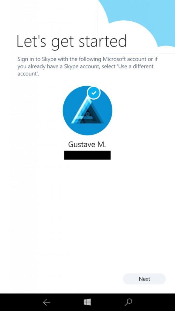 Skype UWP 3