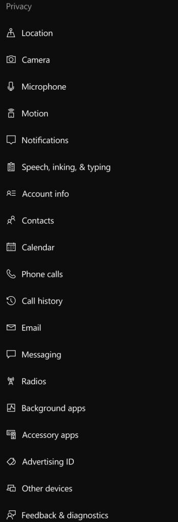 Build 14342 icons