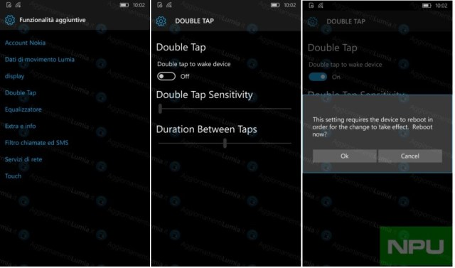 HP Elite X2 Double tap to wake up