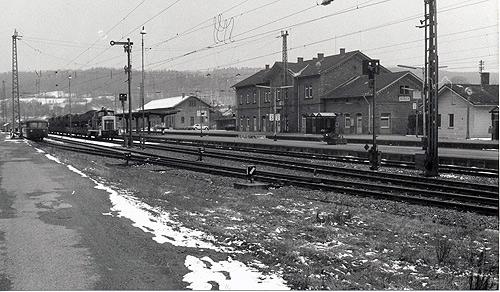 Bahnhof Seckach