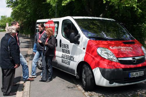 Kirchentags Mobil in Seckach
