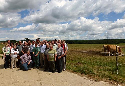 500 Landwirte besuchen Ungarn