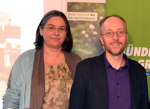 Simone Heitz mit MdB