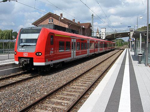 500 S Bahn in Seckach