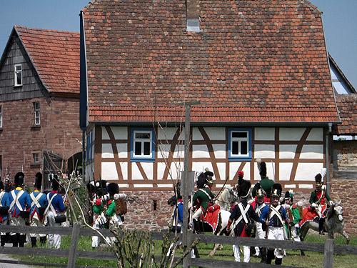 500 Napoleon im Freilandmuseum