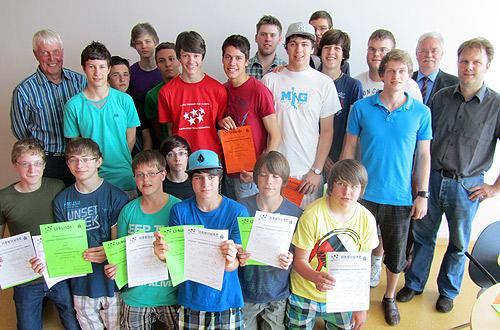 Erfolgreiche HSG Volleyballer