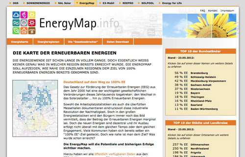 Screenshot Energymap