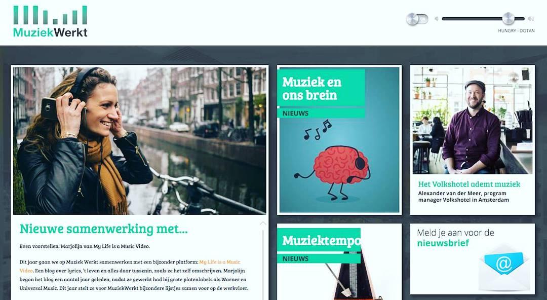 Samenwerking Muziek Werkt – het kennisplatform van Sena & Buma/Stemra