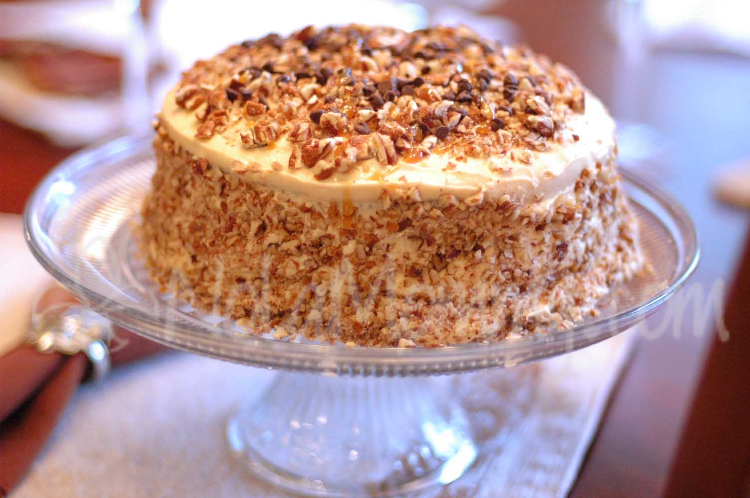 Banana Cake Brown Butter Frosting