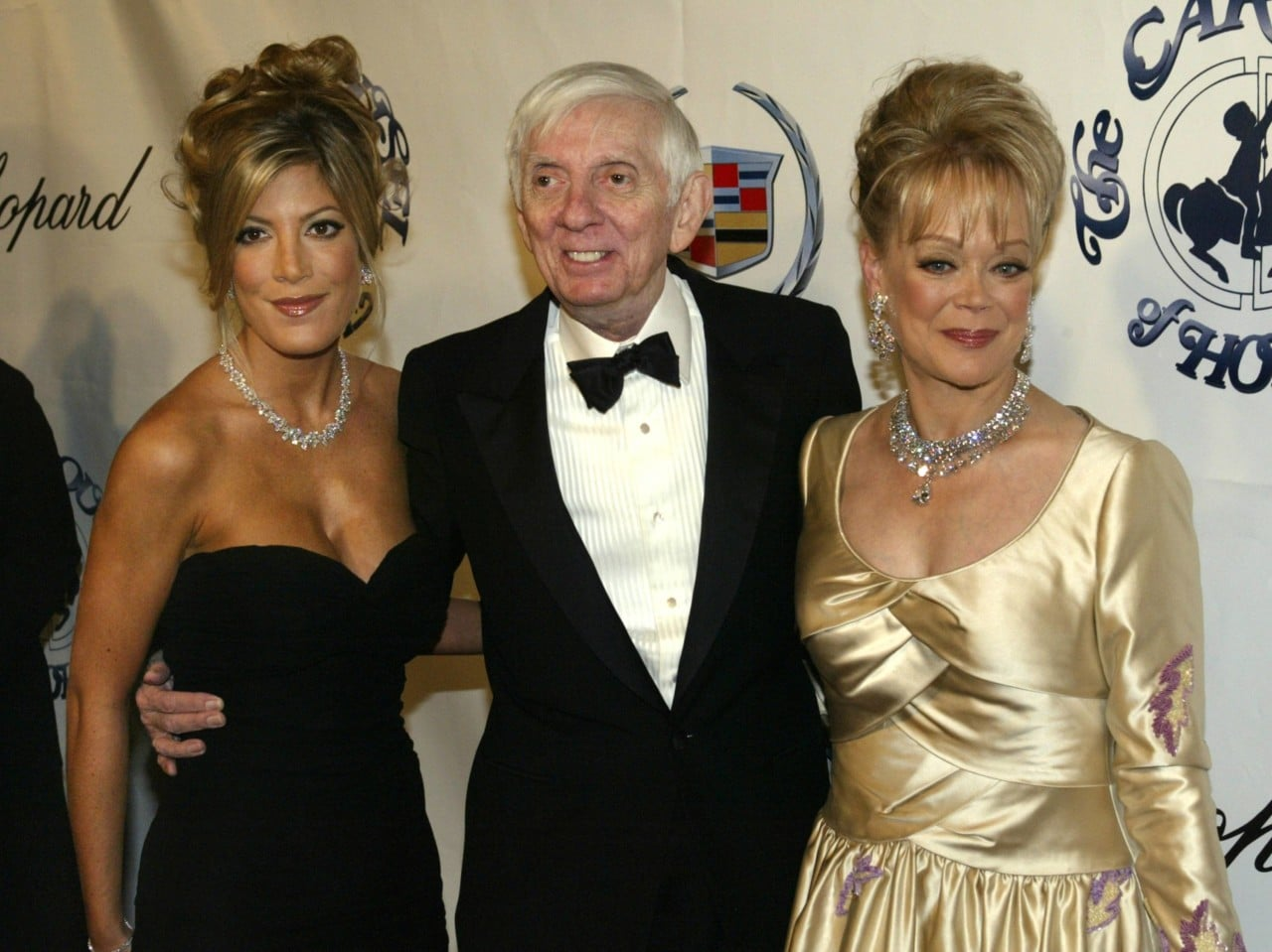 File photo of the Spelling family in Beverly Hills  Nolan