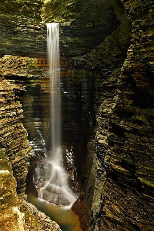Waterfall, Watkins Glen, New York