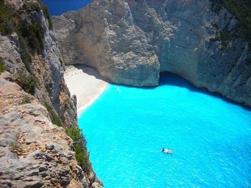 Turquoise Sea, Zakynthos Island, Greece
