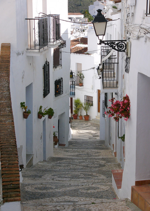 Ancient Street, Andalucia, Spain