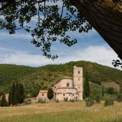 Abbey of Sant' Antimo, Tuscany (454F27922)
