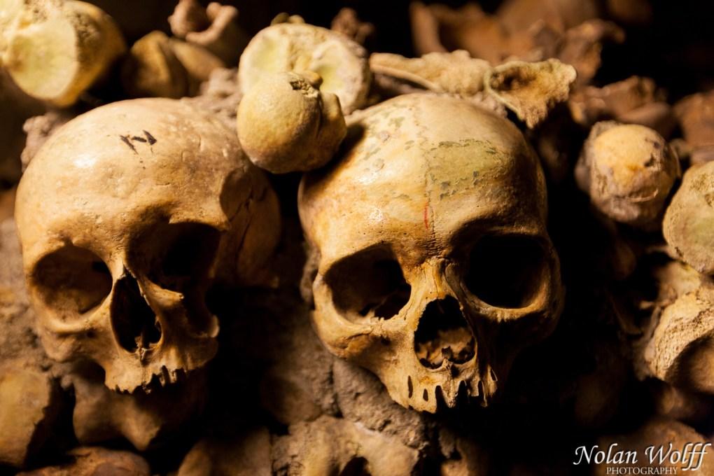 Human remains in Catacombes de Paris (454F34174)