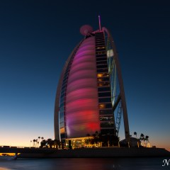 Burj Al Arab Jumeirah at sunset (454F34622)