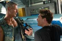 Stephen Lang y Sam Worthington