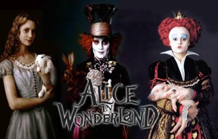 Alice in Wonderland - actoresl principales