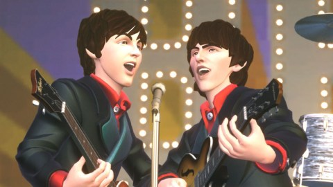 the beatles rockband singing