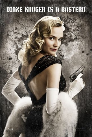 Diane Kruger is a Basterd