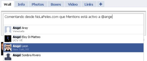 facebook mentions screenshot 1