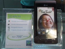 LG KP570 promoción en Movistar