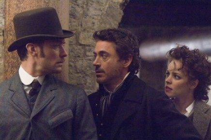 John Watson, Sherlock Holmes e Irene Adler