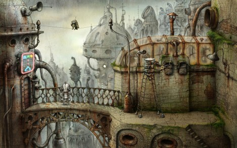 machinarium pajaro