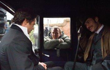 Robert Downey Jr., Guy Ritchie y Jude Law