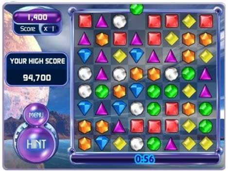 bejewelled blitz - facebook game