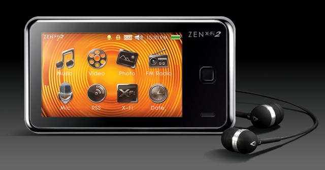 toca el sonido con creative zen xfi 2  no la peles