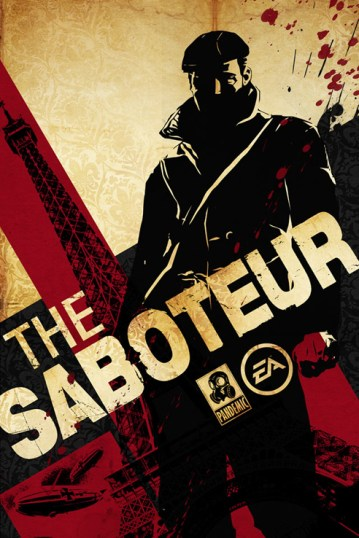 the saboteur poster