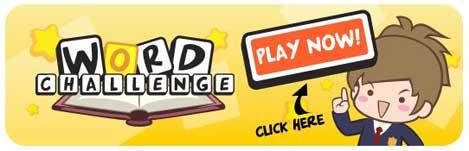 word challenge - facebook game