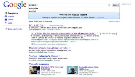 Google Instant (click para agrandar)