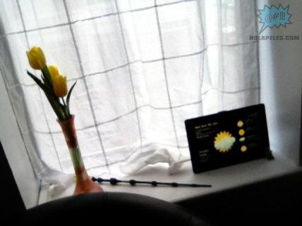Foto tomada con la cámara frontal del iPad 2
