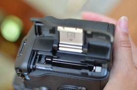Slot para memoria CF Card