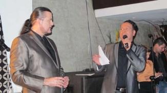 Luis Enrique Cañas y Freddy Mendoza