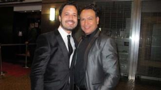"""Freddy Mendoza de """"De punta en Blanco"""" junto a Mauricio Echezuría de Nolapeles"""