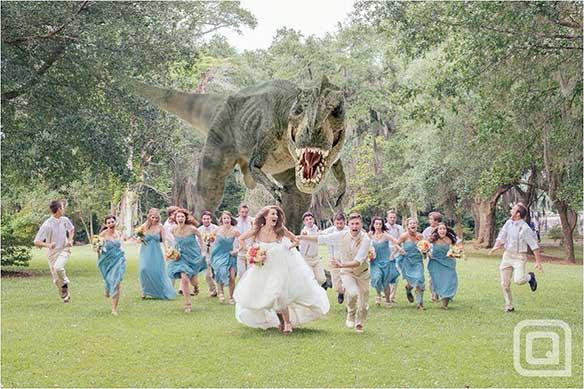 ataque-dinosaurio-en-boda
