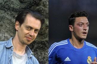 Steve Buscemi y Mesut Ozil