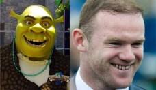 Sheck y Wayne Rooney